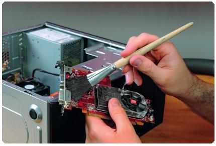 Чистка компьютера или ноутбука от пыли Нижний Новгород